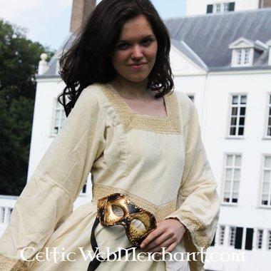 Jurk Anna Boleyn wit
