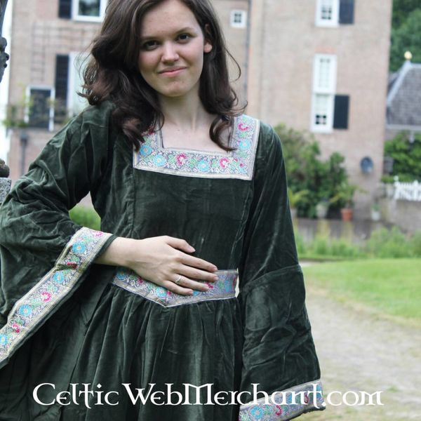 Dress Anna Boleyn green