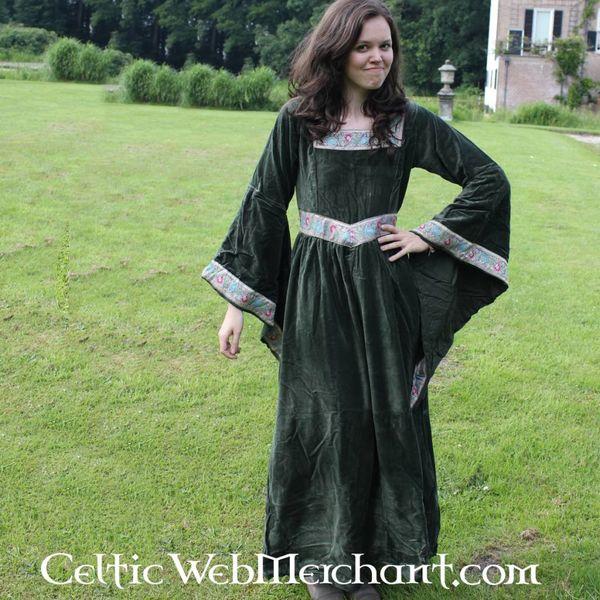 Robe Anna Boleyn, vert