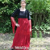 Robe Isobel, rouge