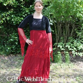 Robe Isobel, rouge