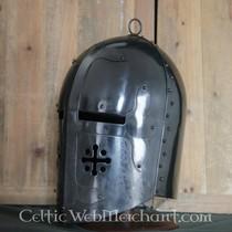 Deepeeka Grote helm (Sir William de Staunton)
