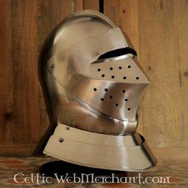 Tudor cerrado casco de torneo