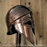 Corinthic-Italic helmet bronzed
