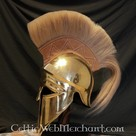 Corinthian helmet with crest