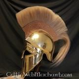 Corinthische helm met helmkam