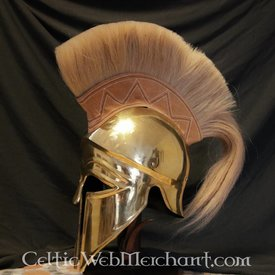 Deepeeka Korintisk hjelm med hjelmkam