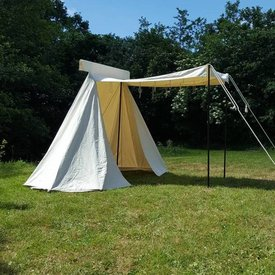 Tienda artesanal vikinga, 4x2,25 m