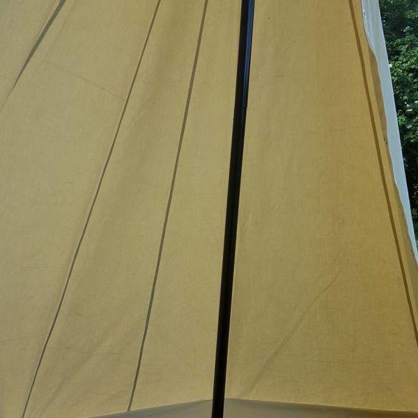 Viking rzemieślników namiot, 4x2,25 m