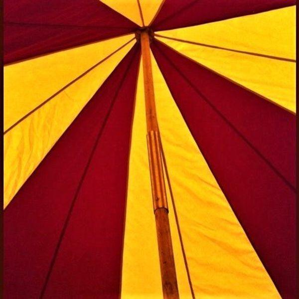 Tente médiévale Herwald, 6 m