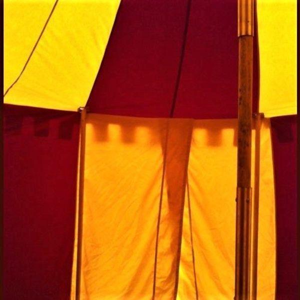 Middeleeuwse tent Herwald, 6 m
