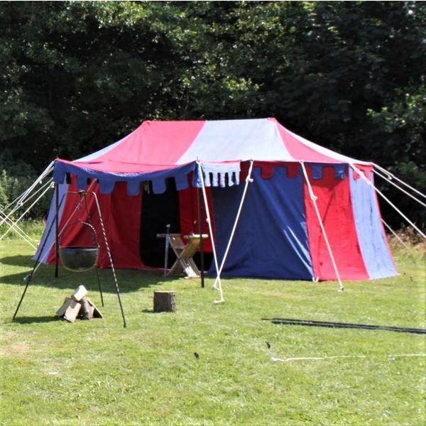 Tienda de campaña medieval Burgund, 3 x 5 m