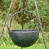 Early-medieval cauldron 3,5 litre