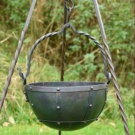 Early-médiévale chaudron 3,5 litre