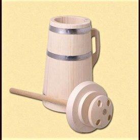 Wooden churn