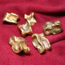 Astragalus Romano (hueso), bronce