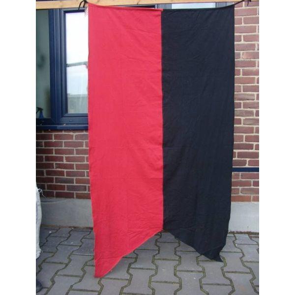 Bandera de la ciudad heráldica