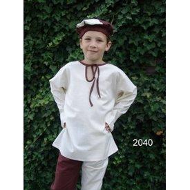 Camisa de los muchachos medievales