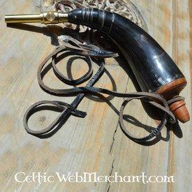 18th century gunpowder horn