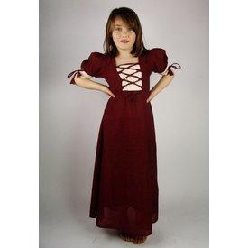 Pige kjole Nina, rød
