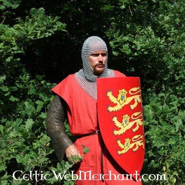 Schild met Engelse heraldiek groot