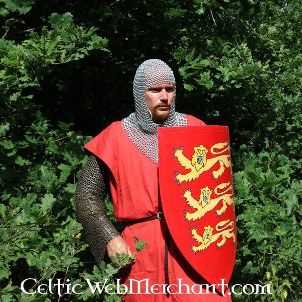 Escudo con heráldica Inglés grande
