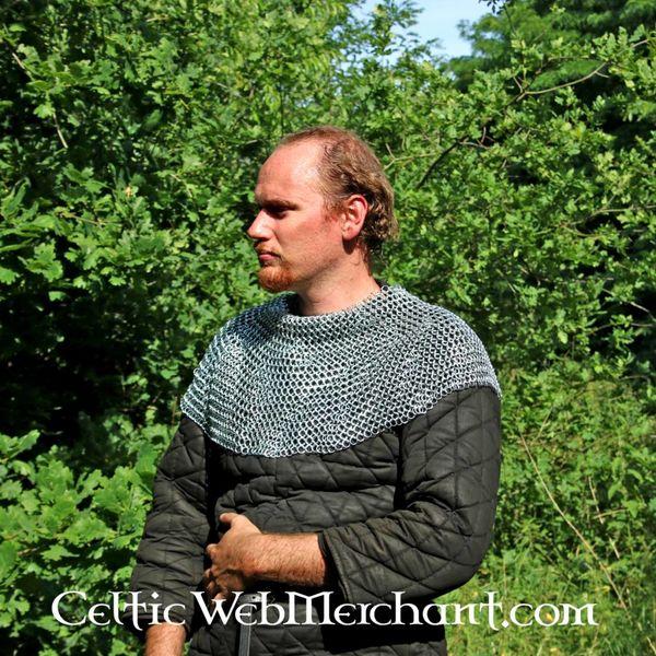 Protezione delle spalle in cotta di maglia, zincata, 9 mm