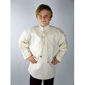 Camisa tejida a mano para niños