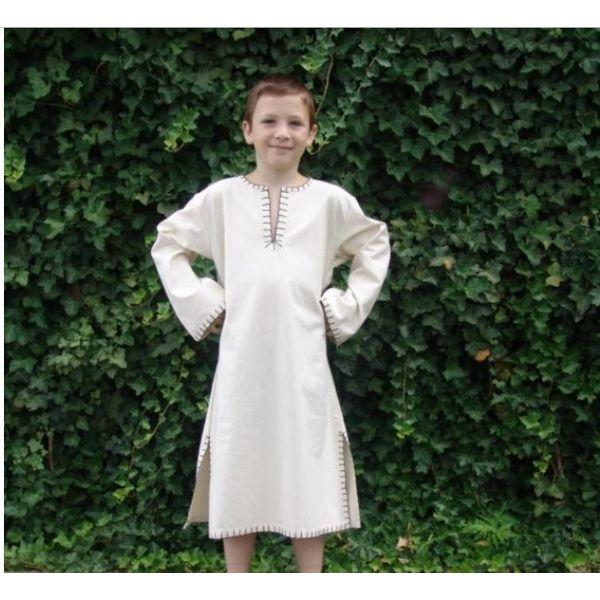 tunika chłopca z długimi rękawami