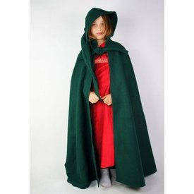 Children's cloak with hood