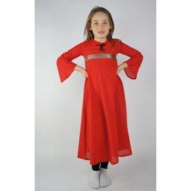 Pige kjole Ariane, rød
