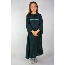 Pige kjole Ariane, grøn
