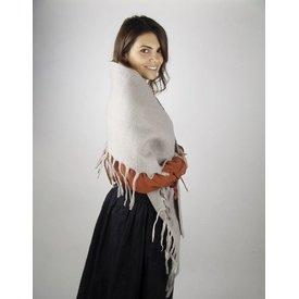 Chal de lana del siglo XVII