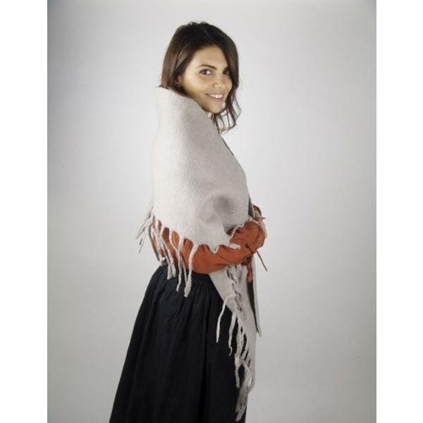 17-århundrede uldent sjal