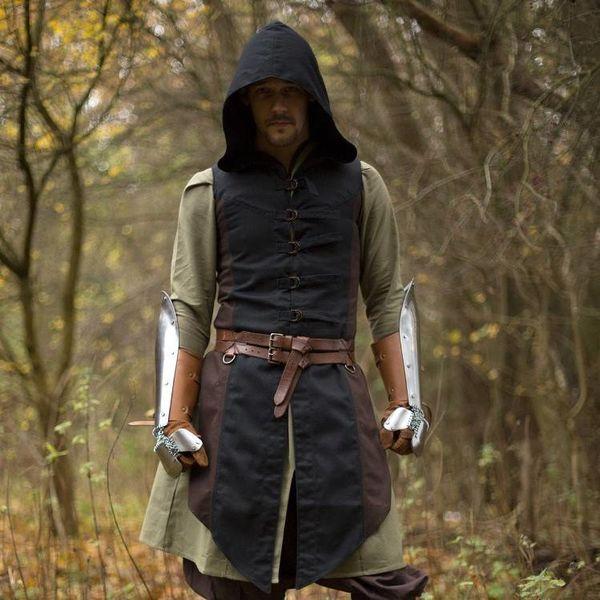 Epic Armoury Mouwloze jas Assassins Creed, bruin-zwart