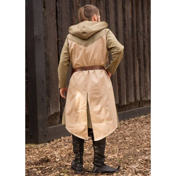 Ærmeløs frakke Assassins Creed, green-sand