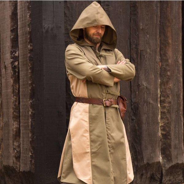 Epic Armoury Mouwloze jas Assassins Creed, groen-zandkleur
