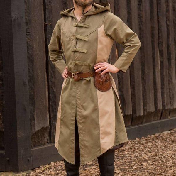 Ærmeløs frakke Assassins Creed, grøn-sand