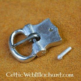 15th århundrede tin bælte spænde