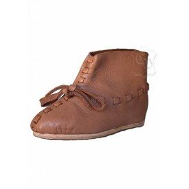 Zapatos de niños medievales