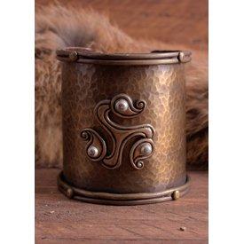 Bracciale celtico con triskelion