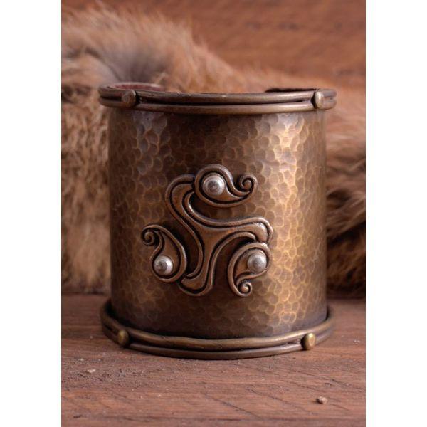 Keltische armband met triskelion