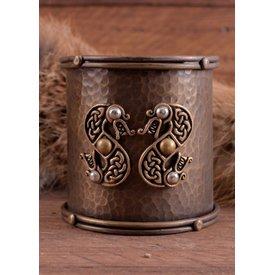 Bracelet celtique aux motifs de serpent