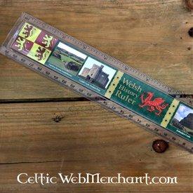 Historie af Wales lineal