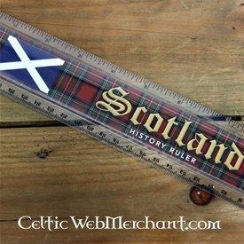 Skotske historie lineal