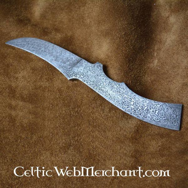 Couteau en acier de Damas