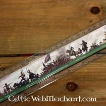 Lineaal slag bij Waterloo