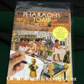 Frotar abajo la tumba del faraón