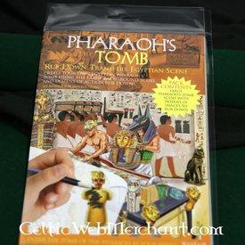 Rub ned panorama Faraos grav