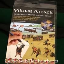 Rub down panorama atak Wikingów